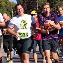 SEB Tallinna Maraton - Kaspar Kala (355), Agate Darvina (2933)