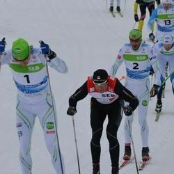 41. Tartu Maraton - Jerry Ahrlin (1), Anders Aukland (2)