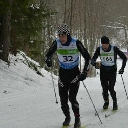 41. Tartu Maraton - Andre Mets (32), Jarkko Vuollet (166)
