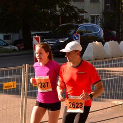 SEB Tallinna Maraton - Andi Piliste (2623), Kerttu Piliste (4307)