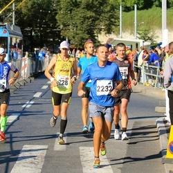 SEB Tallinna Maraton - Andris Leja (228), Peeter Kand (314), Eliseev Evgeny (2232)