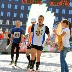 SEB Tallinna Maraton - Meelis Piirsalu (283), Christian Gunnarsson (429)