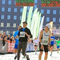 SEB Tallinna Maraton - Ari Kilpinen (239), Raimo Talviste (949)
