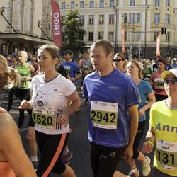 SEB Tallinna Maraton - Anna Semiánová (1310), Regina Evarte (1520), Ülari Pärnoja (2942)