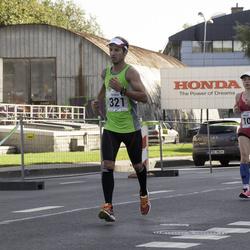 SEB Tallinna Maraton - Annika Vaher (108), Patrick Wicki (321)