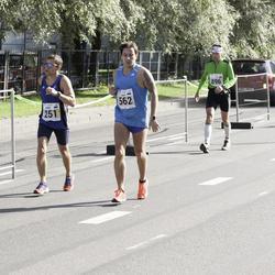 SEB Tallinna Maraton - Andre Abner (251), Janar Novitski (562)