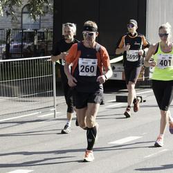 SEB Tallinna Maraton - Heigo Saar (260), Brit Rammul (401)