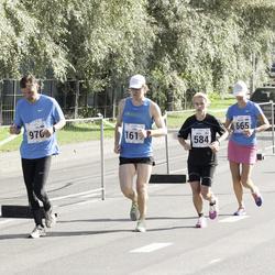 SEB Tallinna Maraton - Birgi Putkonen (584), Astrid Asi (665)