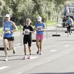 SEB Tallinna Maraton - Birgi Putkonen (584), Tõnu Altnurme (970), Henri Kaljumäe (1617)