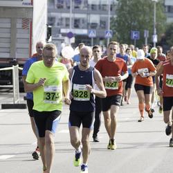 SEB Tallinna Maraton - Arndt Vehlmann (328), Timo Mäkinen (374), Sander Kuusk (527), Toivo Kangur (2753)