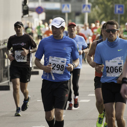 SEB Tallinna Maraton - Margus Randmäe (1298), Ago Saluveer (2066)