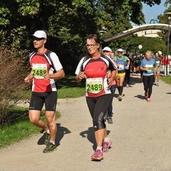SEB Tallinna Maraton - Ricky Berglund (2488), Anna-Lena Berglund (2489)
