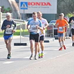 SEB Tallinna Maraton - Aleksandr Kozmov (470), Maido Janke (505), Arno Vaik (2233)