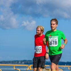 SEB Tallinna Maraton - Bjorn Rogde (577), Mikko Vauhkonen (618)