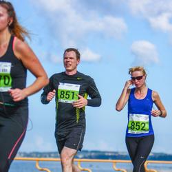 SEB Tallinna Maraton - Lehar Oha (851), Birgit Haasmaa (852)