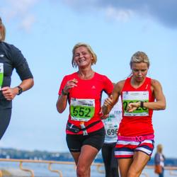 SEB Tallinna Maraton - Eha Lehtoja (652), Briti Klimberg (2928)
