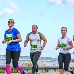 SEB Tallinna Maraton - Angelika Asper (1287), Raivo Nikiforov (2043), Mari Kokkonen (2339)