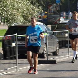 SEB Tallinna Maraton - Arno Sibul (678), Jürgen Veber (1668)