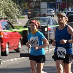 SEB Tallinna Maraton - Järvi Valter (605), Aare Huik (1986)