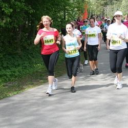 SEB Maijooks - Käthi Kivi (1279), Maarika Pähklemäe (1645), Moonika Õunap (1685), Agne Velthut (2061)