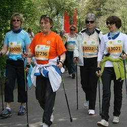 SEB Maijooks - Malle Karu (12236), Birgit Gürtler (13020), Eva Maria Koep-Schlaga (13021), Christiane Lauten (13022)