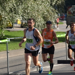 SEB Tallinna Maraton - Jaanus Undrest (76), Aare Kutsar (293), Francesco Fortunato (1872)