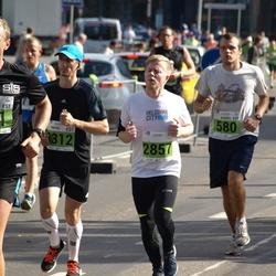 SEB Tallinna Maraton - Kaarel Koitne (580), Andre Pukk (601), Dmitri Zakhodyaev (1312), Henri Kälvälä (2857)