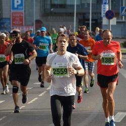 SEB Tallinna Maraton - Charles Christiansen (1388), Veiko Seliste (2559)