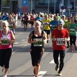 SEB Tallinna Maraton - Tarmo Saidla (1519), Anni Leiger (1580), Liina Leiger (1583)