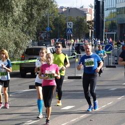 SEB Tallinna Maraton - Kamile Dziovalaite (1343), Arto Nortunen (1659), Gerli Kriiska (2764)