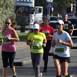 SEB Tallinna Maraton - Anna Semiánová (1310), Anu Reponen (1748), Dajana Tiitsaar (2656)