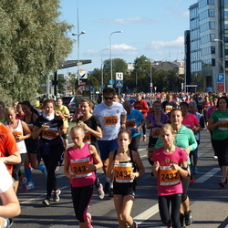 SEB Tallinna Maraton - Liz Margaret Kõõra (2432), Anastasija Serebrova (2433)
