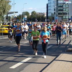 SEB Tallinna Maraton - Birgit Valdaru (5861), Helena Sokolov (6125), Johanna Urm (6424)