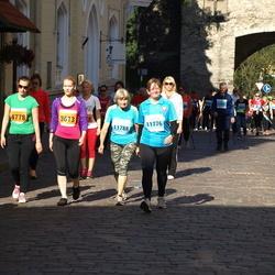 SEB Tallinna Maraton - Annika Aasoja (3613), Annemari Aasoja (4778), Kati Korm (11776), Aili Korm (11788)