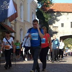 SEB Tallinna Maraton - Arina Polonskaja (6550), Elvis Jermann (10537)