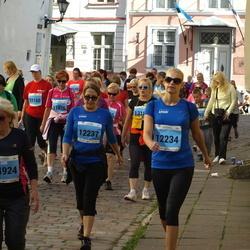 SEB Tallinna Maraton - Kristiina Puuste (12234), Ada Bärenklau (12237), Maia Vahter (14924)