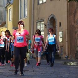 SEB Tallinna Maraton - Herly Talvet (10667), Ingrid Lillemaa (11810), Anna Fokina (11813)