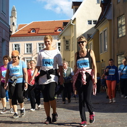 SEB Tallinna Maraton - Aini Joost (10345), Kairit Merman (14481), Birgit Kukk (14549)
