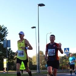 SEB Tallinna Maraton - Andris Leja (228), Aigars Varna (238)