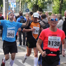 SEB Tallinna Maraton - Ersto Põlluaas (569), Ann-Louise Engström (1138)