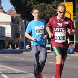 SEB Tallinna Maraton - Ivar Volt (1521), Artis Drezinš (2030)