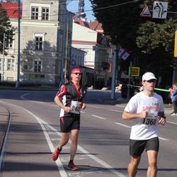 SEB Tallinna Maraton - Bernd Völker (863), Kaspar Kaur (1360)