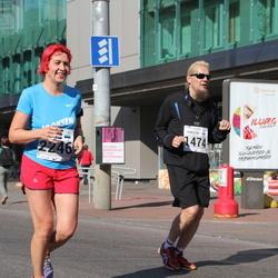SEB Tallinna Maraton - Christer Kallio (1474), Pipi-Liis Siemann (2246)
