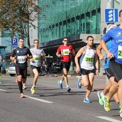 SEB Tallinna Maraton - Tõnis Metsaots (38), Maidu Saar (65), Aare Kutsar (293), Timo Lomp (2060)