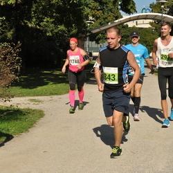 SEB Tallinna Maraton - Kaido Karumaa (843), Eva Närhi (1748)