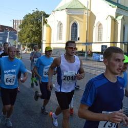 SEB Tallinna Maraton - Aleksandrs Grotus (647), Indrek Vait (2042)
