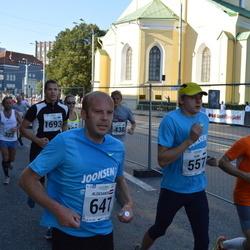 SEB Tallinna Maraton - Siim Kukk (557), Aleksandrs Grotus (647)