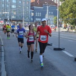 SEB Tallinna Maraton - Indrek Lõhmus (404), Emil Laugal (551), Birgitti Pilvet (2079)