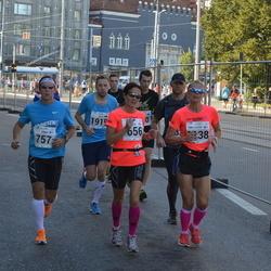 SEB Tallinna Maraton - Annika Lundström-Nygård (656), Kimmo Karppinen (757)