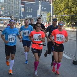 SEB Tallinna Maraton - Annika Lundström-Nygård (656), Kimmo Karppinen (757), Ann-Louise Engström (1138), Raivo Lõkk (1919)